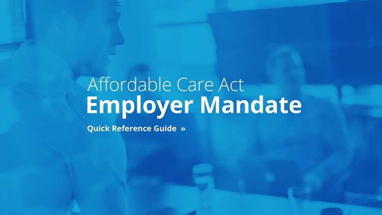 Tax Year 2016 ACA Business Mandate