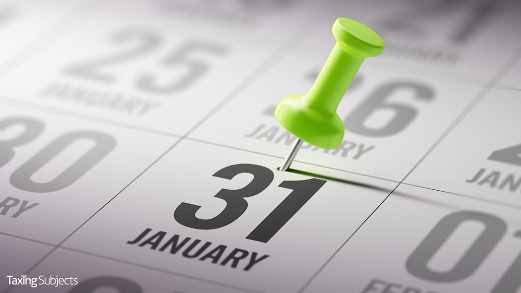 Reminder: Forms W-2 Now Due to Social Security Administration (SSA) by January 31