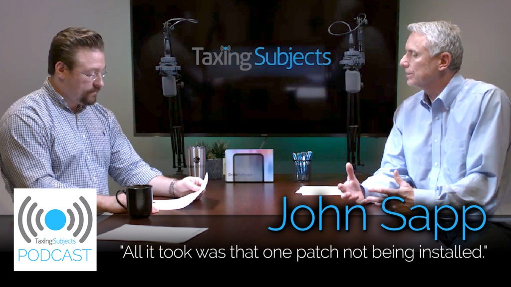 John Sapp Talks Data Security - EP1