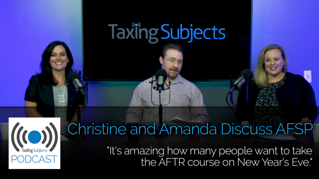 Christine and Amanda Discuss AFSP – EP11