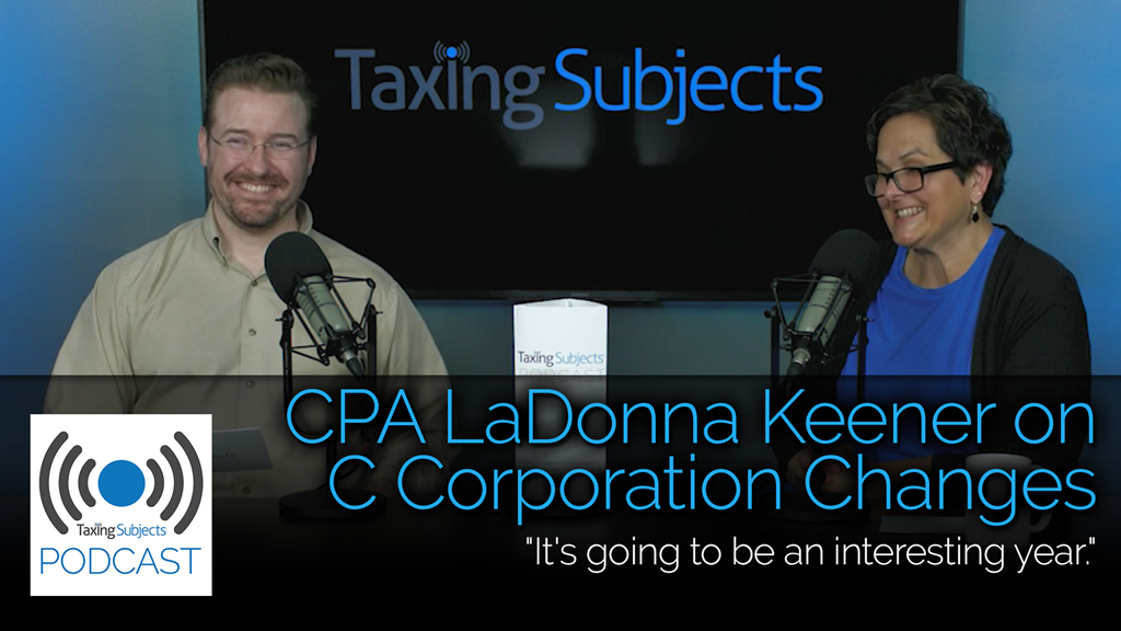 CPA LaDonna Keener on C Corporation Changes - EP12