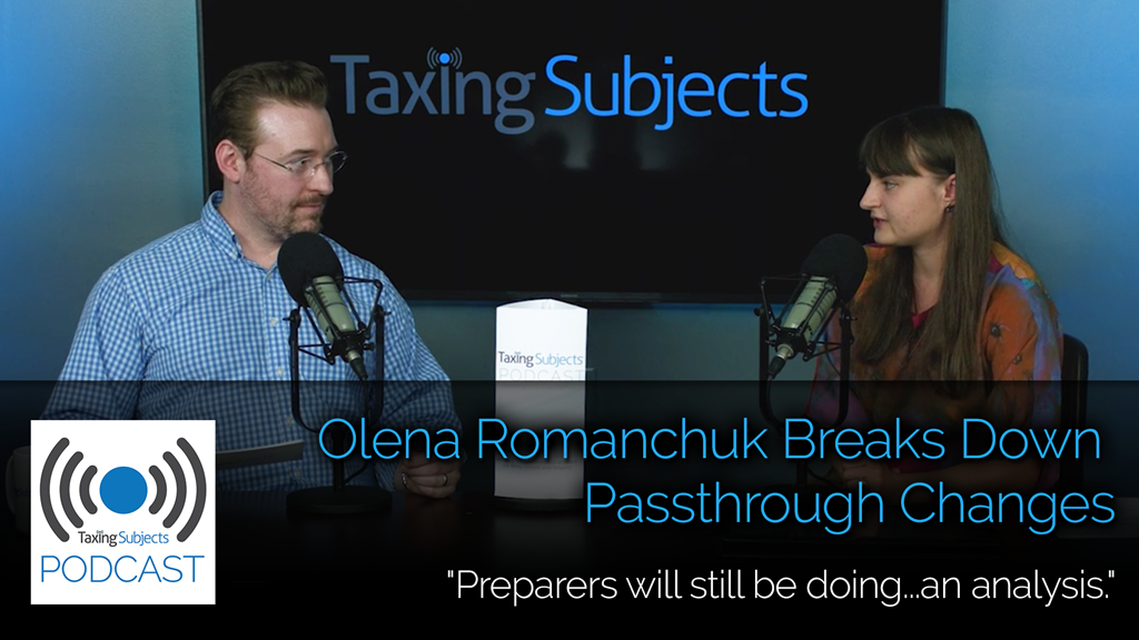 Olena Romanchuk Breaks Down Passthrough Changes - EP14