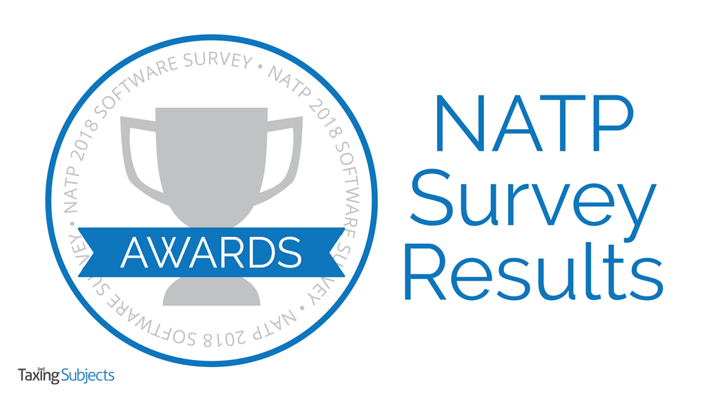 NATP Annual Software Survey Results