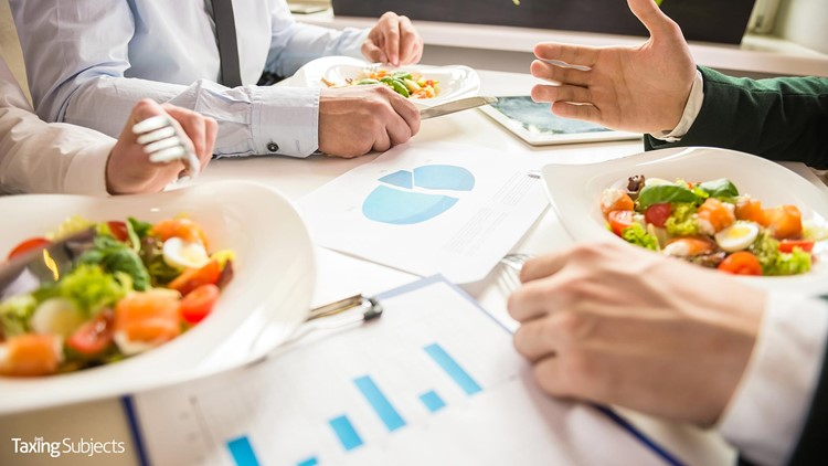 IRS Addresses Deduction for Business Meals