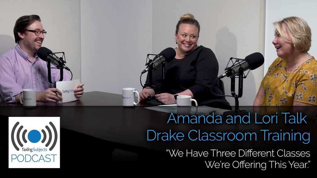 Amanda and Lori Talk Drake Classroom Training - E26
