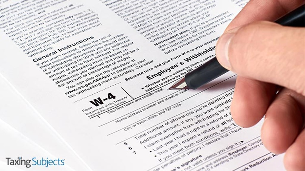 IRS Revamps Form W-4