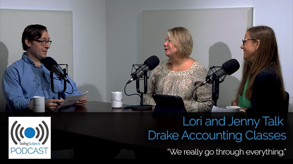Lori and Jenny Talk Drake Accounting Classes - E29