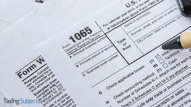 form 1065 irs  IRS Releases Drafts of Revised Forms 1111, 1111-S, and K-11 ...