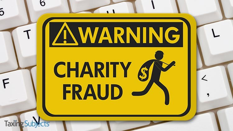 It's International Charity Fraud Awareness Week
