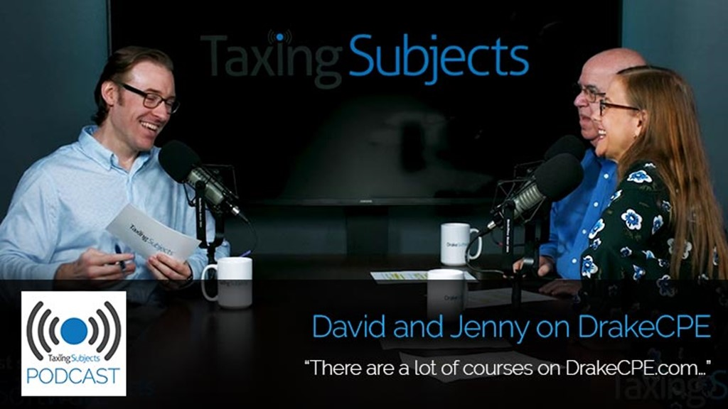 David and Jenny on DrakeCPE - E35