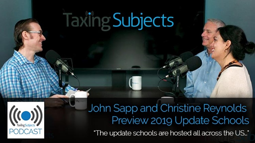 John Sapp and Christine Reynolds Preview 2019 Update Schools – E36