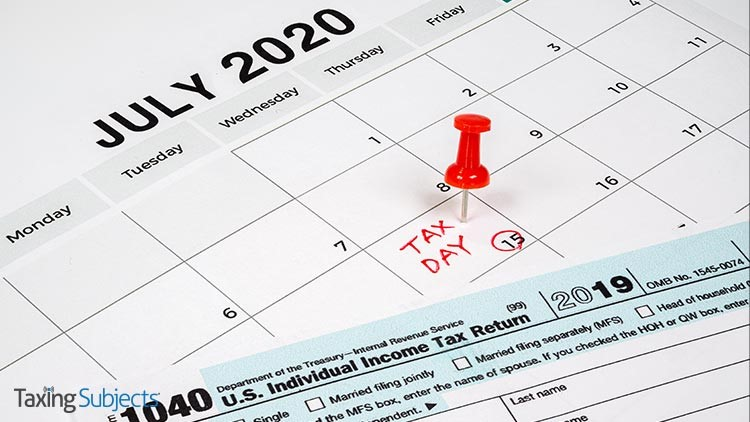 IRS Not Pushing Back July 15 Deadline