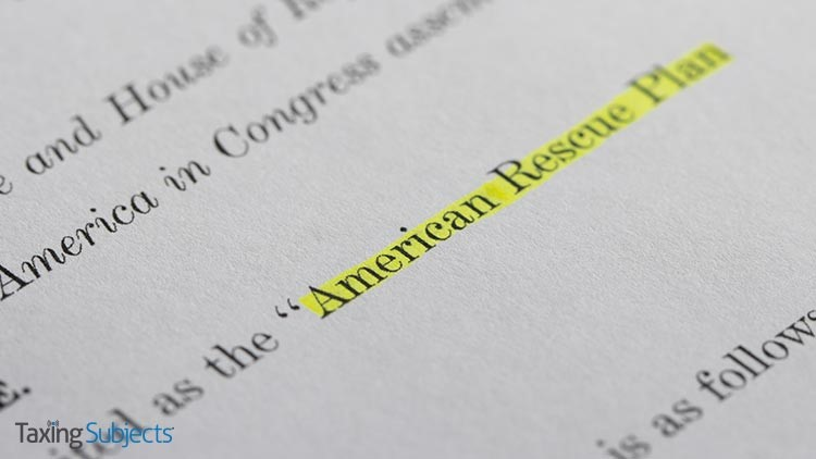 The American Rescue Plan Includes Funding for Individual Payments, Changes to Tax Credits